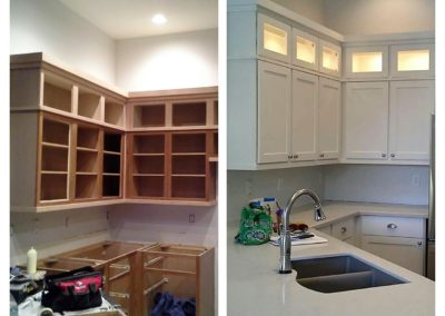 Modified Existing Kitchen for a Custom Feel